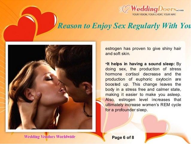 How to make a woman enjoy sex