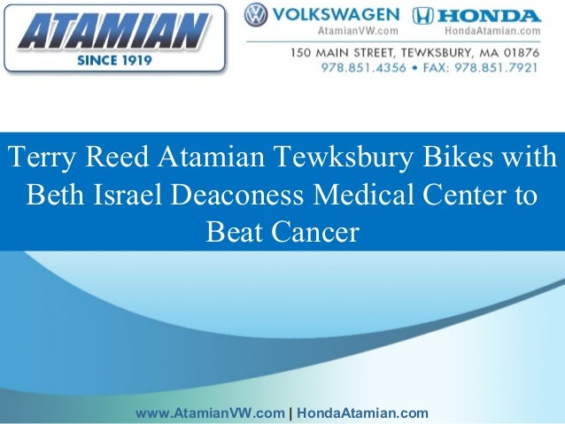 Terry Reed Atamian Tewksbury Bikes with Beth Israel Deaconess Medical Center to Beat Cancer www.AtamianVW.com | HondaAtami...