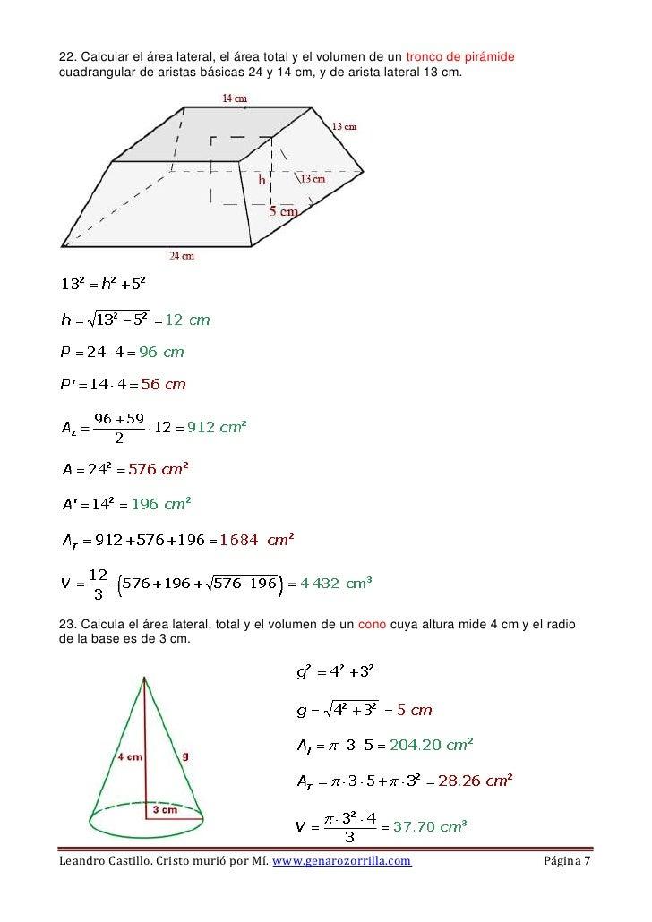 Reas y vol menes for Calcular volumen piscina