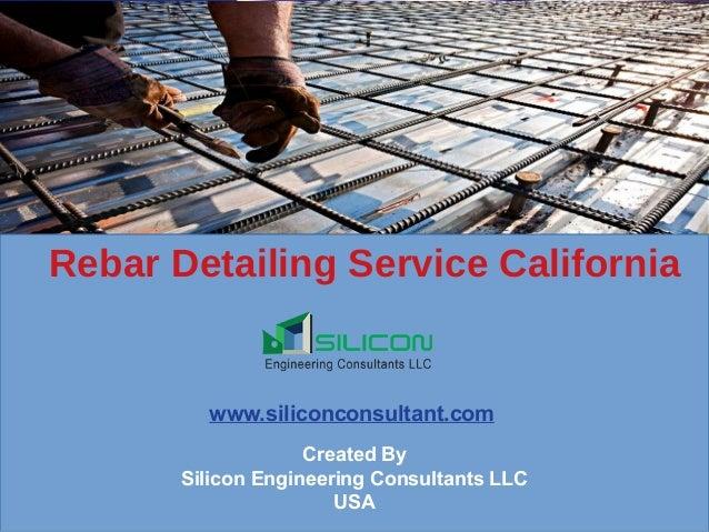 Rebar detailing service california