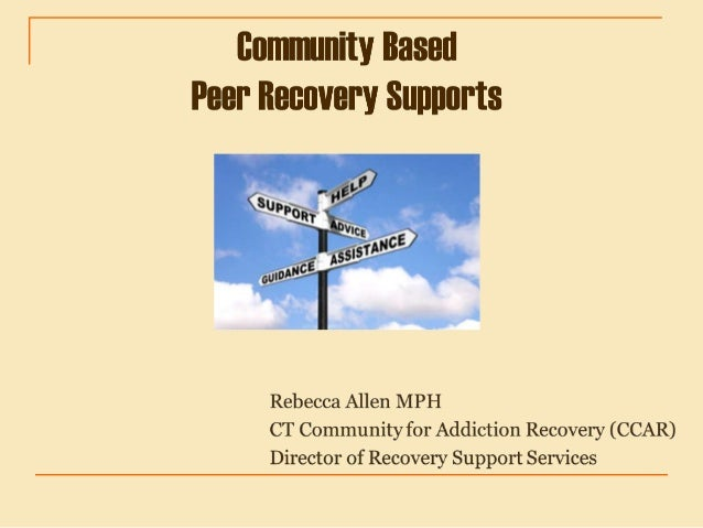 Recovery Definition SAMHSA A process of change through which individuals improve their health and wellness, live a self-di...