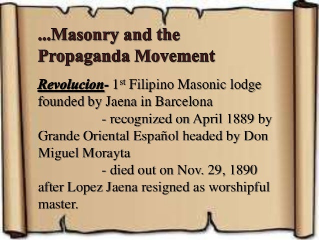 history of propaganda movement in the philippines
