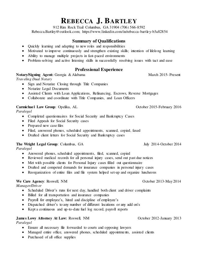 filled out resumes