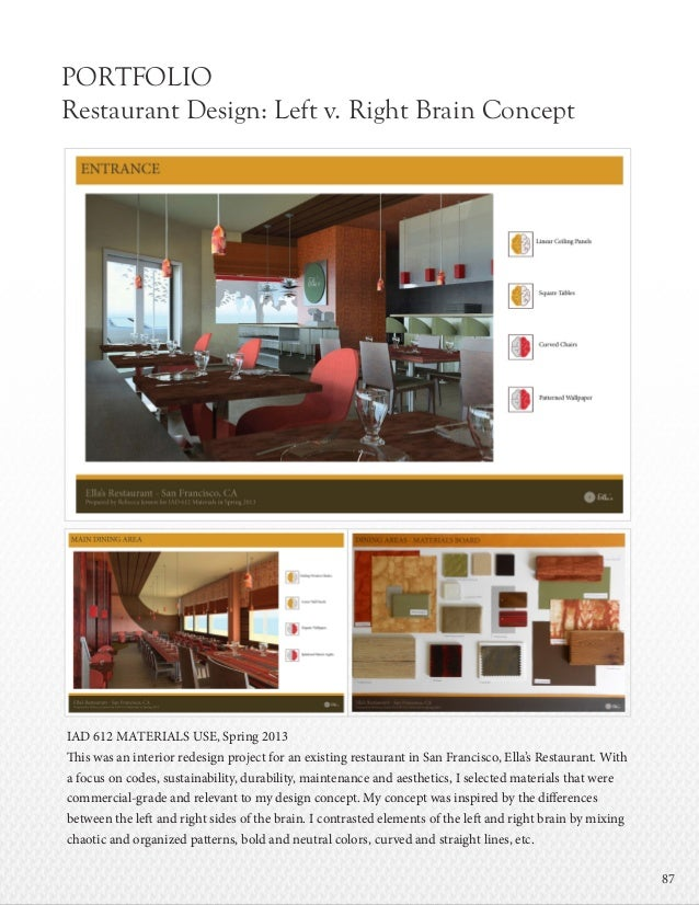 Hotel and restaurant thesis