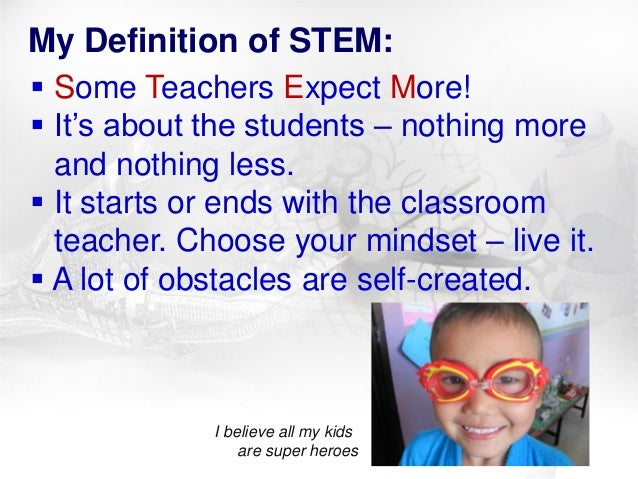 Rebecca Petersen's ISMTEC 2013 Presentation regarding STEM Education in a First Grade Thai Classroom Slide 3