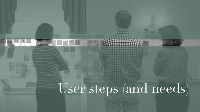 Meta map, tie search data to user journeys