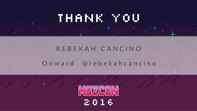 Optimizing the Journey | MozCon 2016