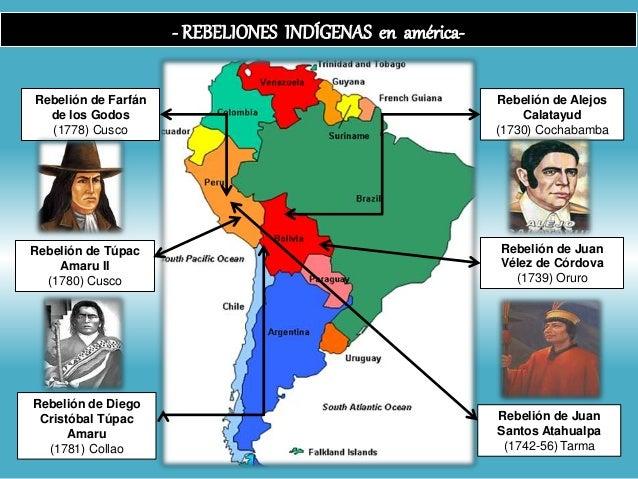 Rebeliones Indígenas S. XVIII Slide 3