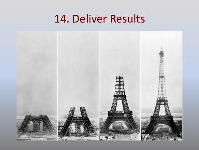 14. Deliver Results
