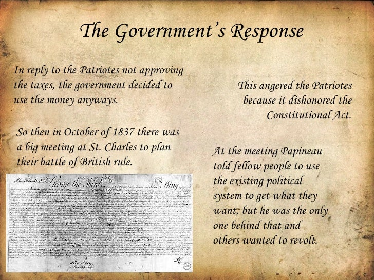 rebellion 1837 essay Urgent please answer this in proper essay format make sure you site your use of resources history: rebellion of 1837 question: the rebellion in upper and lower canada in 1837 remains controversial today did it contribute to the winning of responsible government, or did they slow.