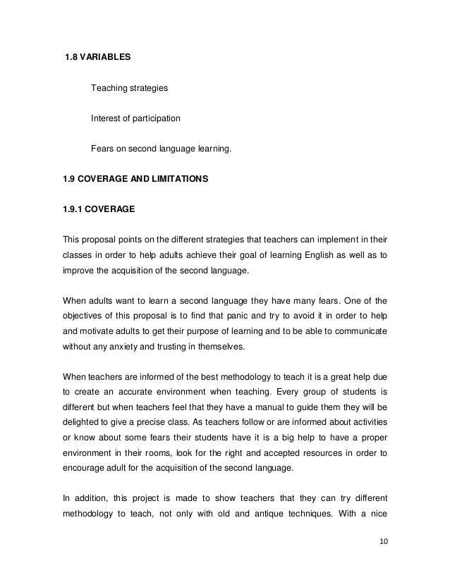 Essay about teaching english as a foreign language