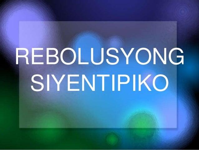 rebolusyong siyentipiko Ano-ano ang dahilan ng rebolusyong siyentipiko, enlightenment, at industriyal - 495048.
