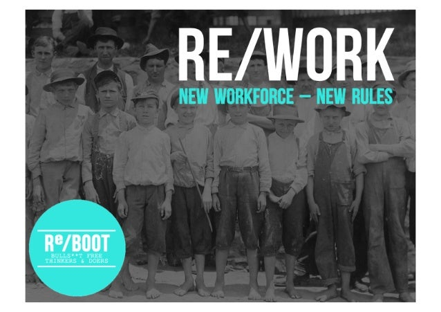 RE/WORK - Inspiring Millennials at work