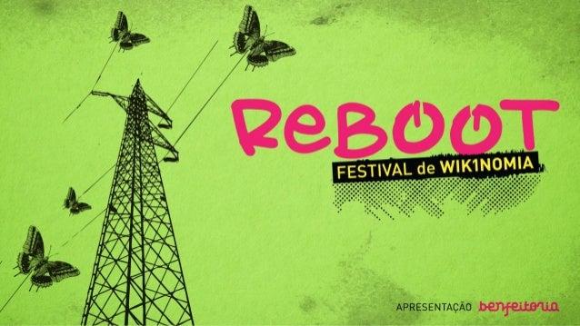 Reboot: Festival de Wikinomia