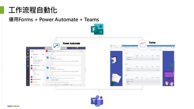 Power Automate Forms 工作流程自動化 運用Forms + Power Automate + Teams