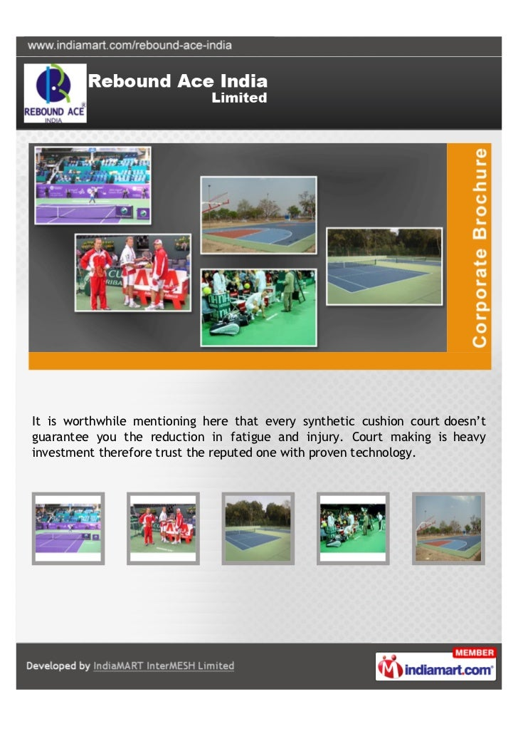 It is worthwhile mentioning here that every synthetic cushion court doesn'tguarantee you the reduction in fatigue and inju...