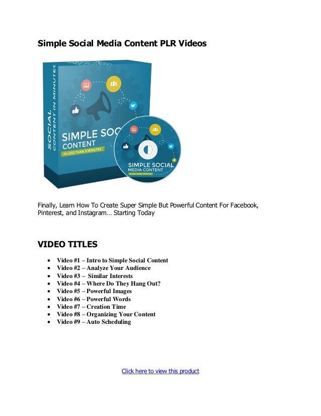 PLR Videos - Premium PLR Videos with Resell Rights 2020 Slide 3
