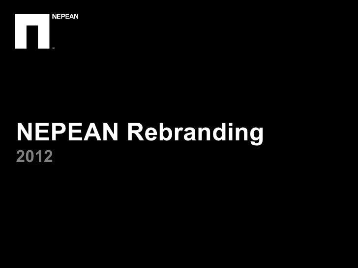 NEPEAN Rebranding2012