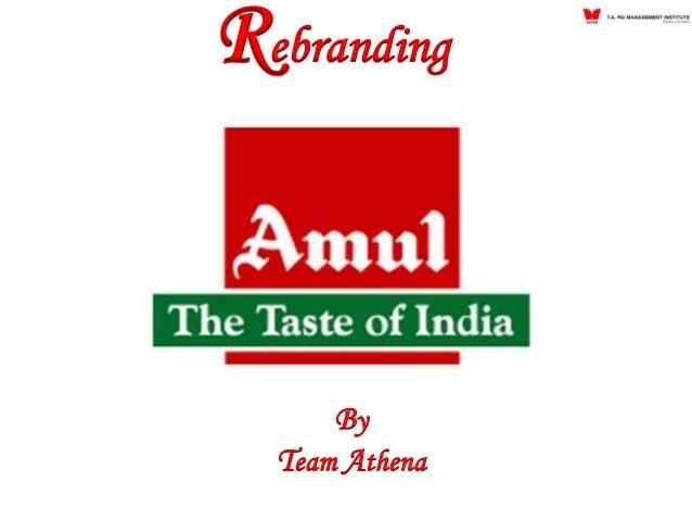 Rebranding By Team Athena