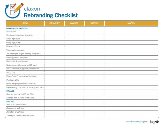 Audit Checklist Template  VisualbrainsInfo