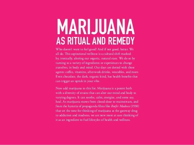 Rebranding Marijuana