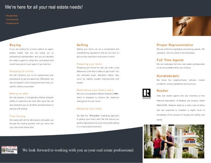 Real Estate Presentation Brochure Template