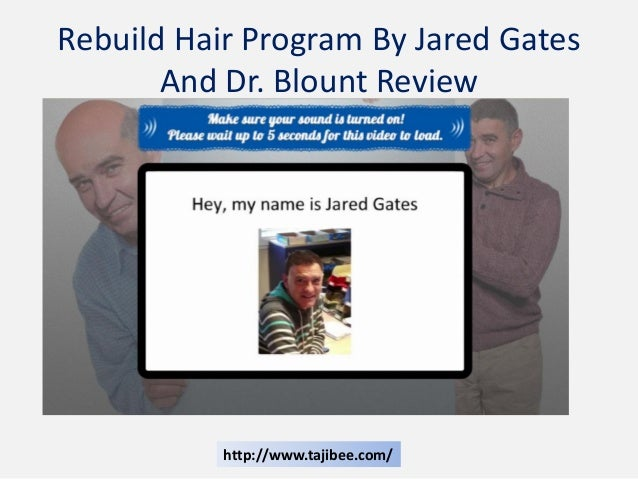 Jared Gates Rebuild Hair Program Ebook