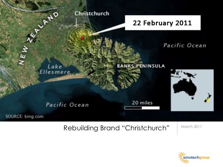 """Rebuilding Brand """"Christchurch""""   March 2011"""