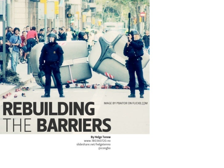 Rebuilding the barriers