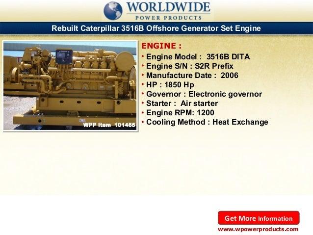 Rebuilt caterpillar marine diesel engines for sale july 2013 for Diesel marine motors for sale