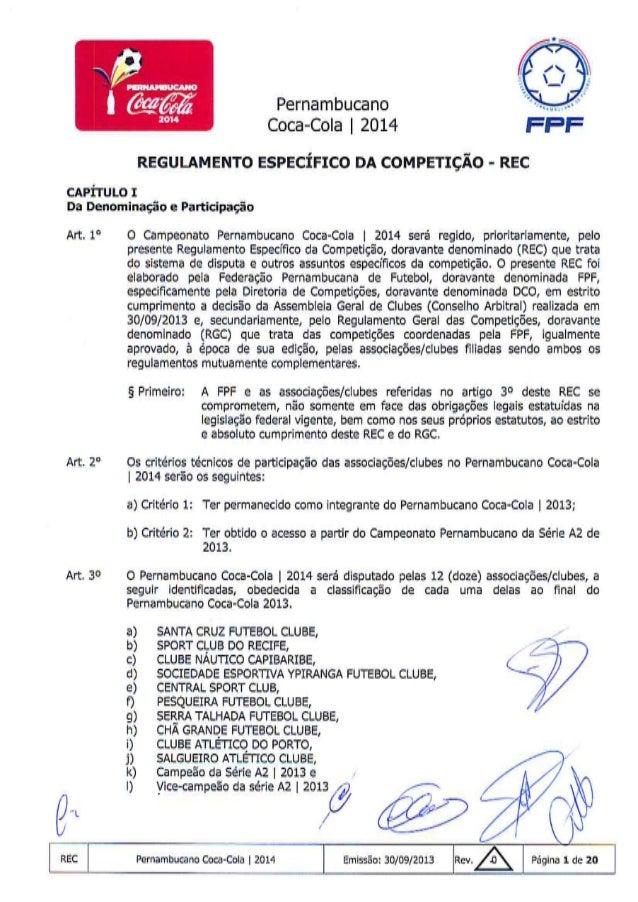 Regulamento 2014