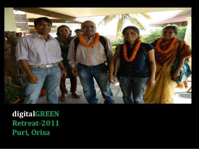 digitalGREEN Retreat-2011 Puri, Orisa