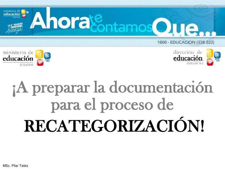 dirección de                           educación                                IMBABURA     ¡A preparar la documentación ...