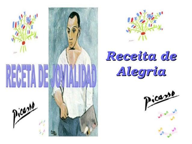 Receita deReceita de AlegriaAlegria