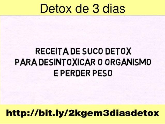 Detox de 3 dias