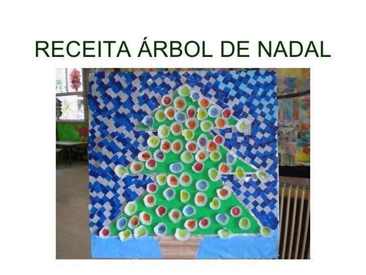 RECEITA ÁRBOL DE NADAL