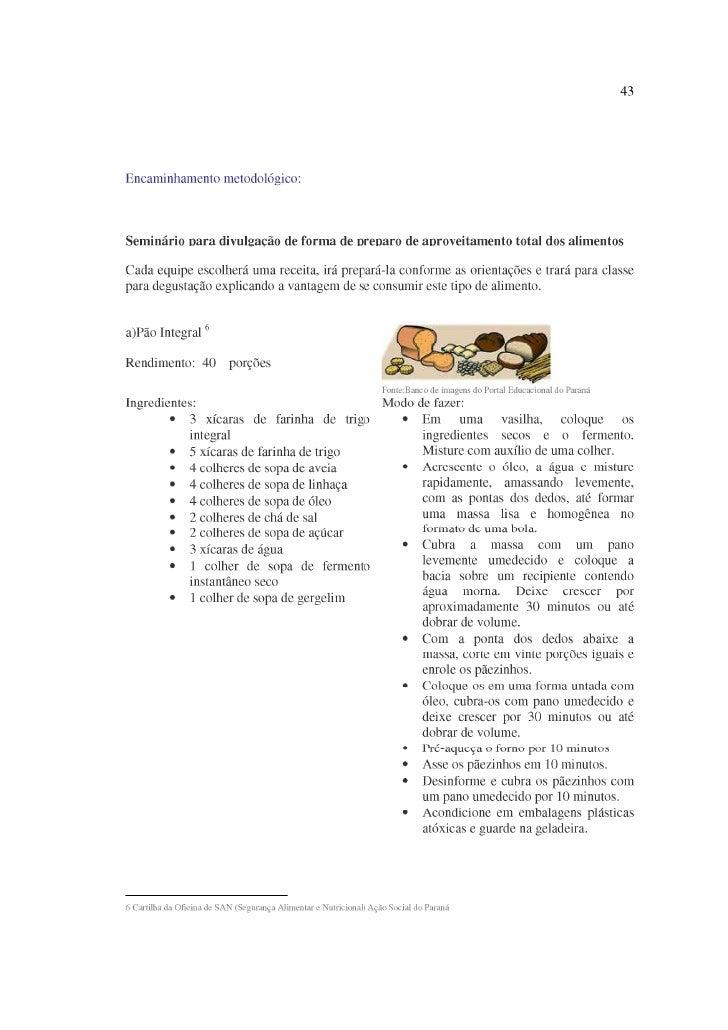 Receitas Aproveitamento Integral Dos Alimentos 03