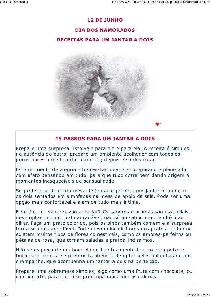 Dia dos Namorados                               http://www.velhosamigos.com.br/DatasEspeciais/dianamorado12.html          ...