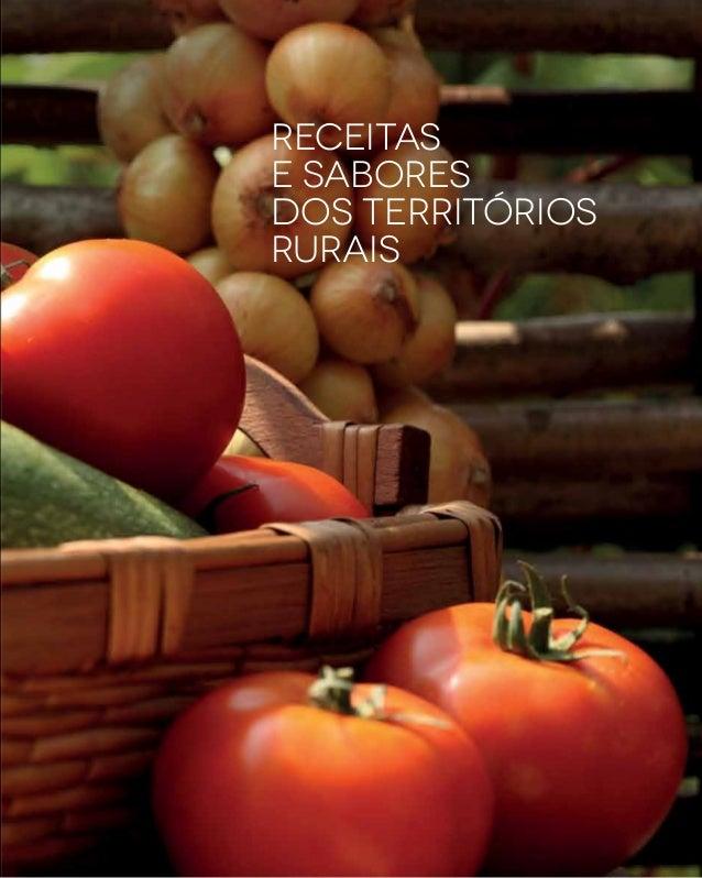 Receitas e sabores dos territórios rurais