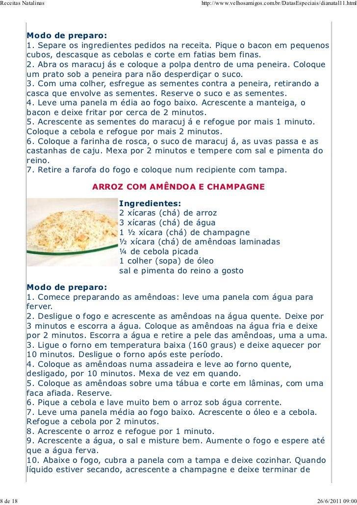 Receitas Natalinas                                http://www.velhosamigos.com.br/DatasEspeciais/dianatal11.html          M...