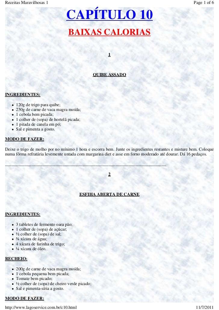 Receitas Maravilhosas 1                                                                               Page 1 of 6         ...