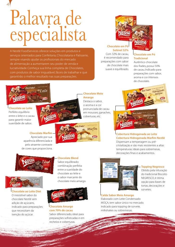 Palavra de  especialista                                                                   Chocolate em Pó                ...