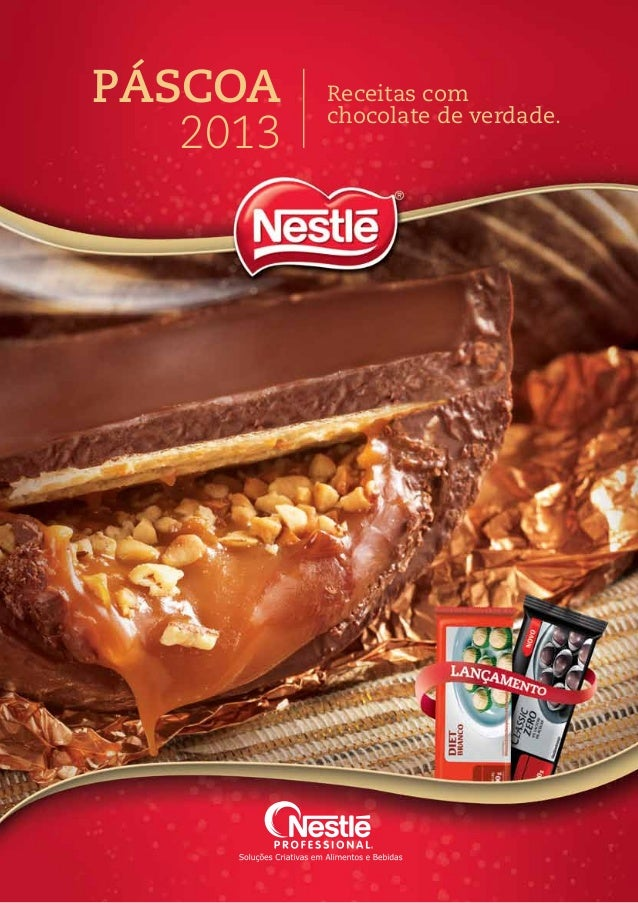 Páscoa 2013 Receitas com chocolate de verdade.
