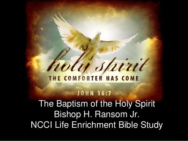 baptism of the holy spirit research paper Baptisim in the holy spirit term paper the interval between faith and holy spirit baptism in this sea from which to launch his own research.