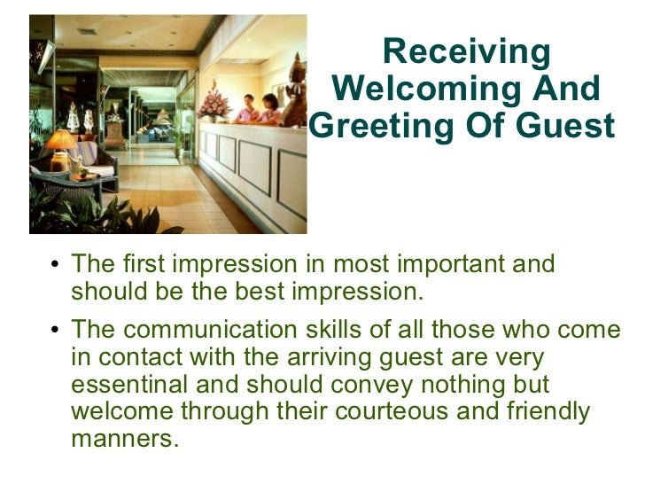 Receiving and welcoming of guest receiving welcoming and greeting of guest 3 altavistaventures Images