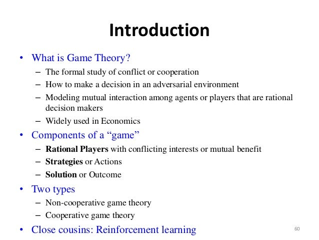 Recent advance in communications 60 60 introduction what is game theory fandeluxe Image collections