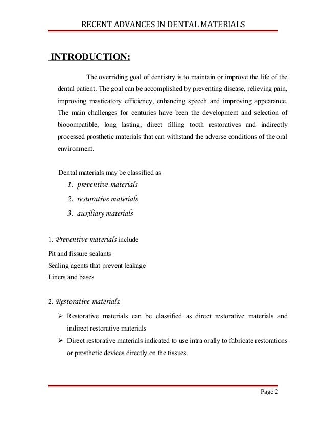 scope preventive dentistry india essay Public health statement of purpose  topics: medicine  importance and scope of the subject and so on  india essay english language essay.