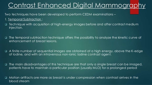 advantages and disadvantages of breast tomosynthesis Presents advantages and disadvantages of the phantoms, problem and goal   a concept of a phantom for the comparison digital breast tomosynthesis and.