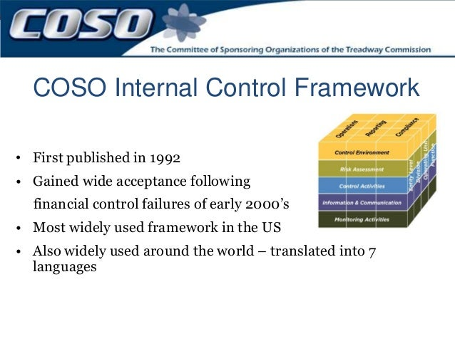 Recent COSO Internal Control and Risk Management Developments