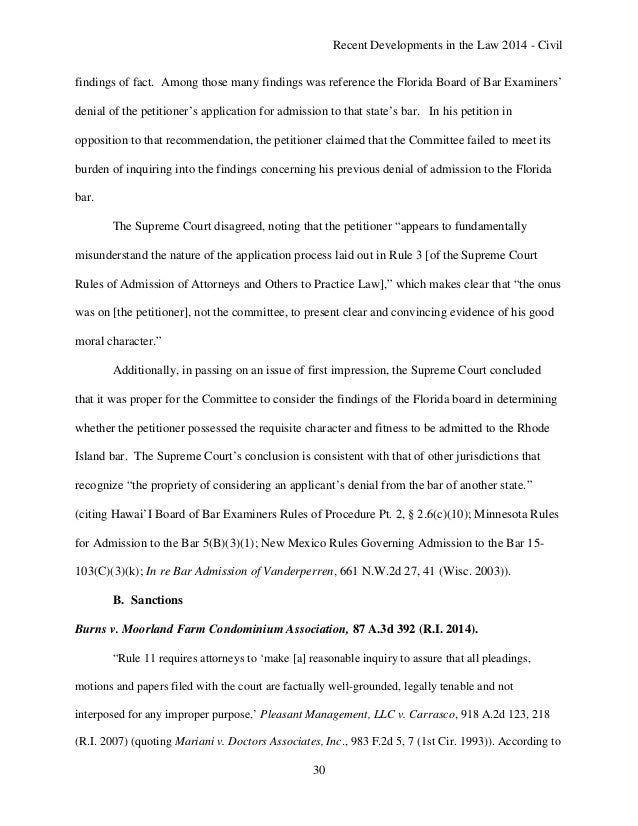 rhode island bar exam essays The rhode island bar exam is a 2 day exam day 1: the local day consists of 1 multistate performance test (mpt) question, 3 rhode island essay questions, and 6 multistate essay exam (mee) questions day 2: multistate bar exam (mbe), a 200-question, mutiple choice exam.